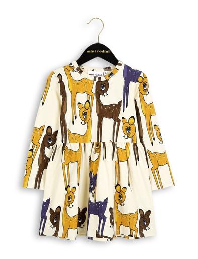 MiniRodini Mini Rodini, Roe Deer LS Dress