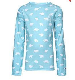 Kombi Kombi, Kids Body 3 Printed Snuggly Fleece Top