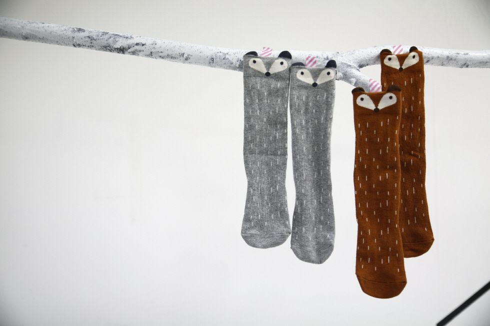 Mini Dressing Mini-Dressing, Racoon Sock