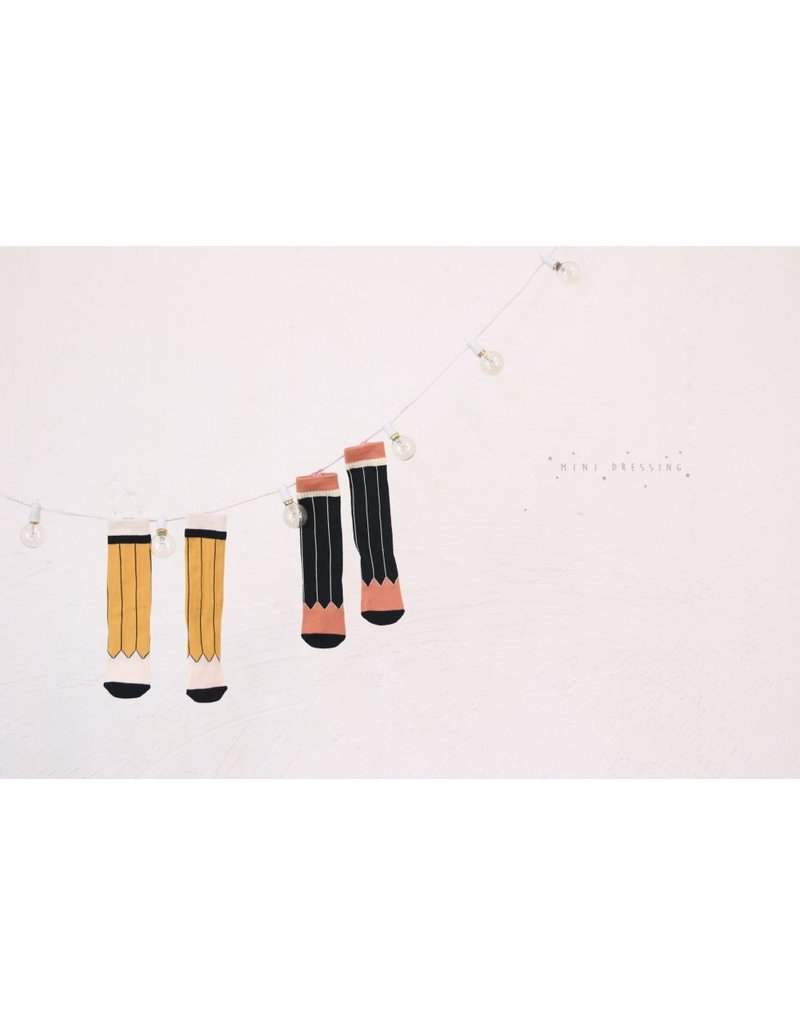 Mini Dressing Mini-Dressing, Pencil Sock