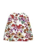 MiniRodini Mini Rodini, Garden Long Sleeve  Cuff T-Shirt