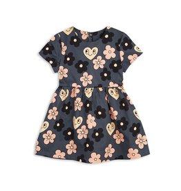 MiniRodini Mini Rodini, Flowers Woven Dress