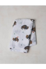 Little Unicorn Little Unicorn, Cotton Muslin Swaddle Single