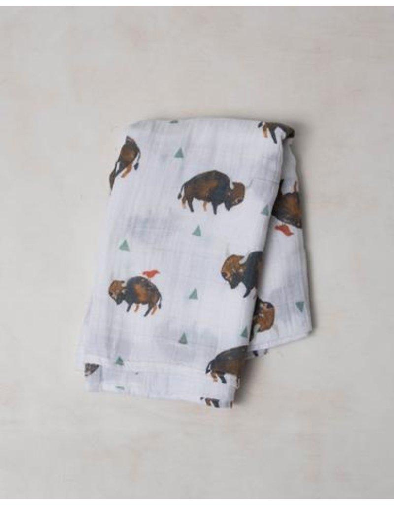 Little Unicorn Little Unicorn, Cotton Muslin Swaddle Single
