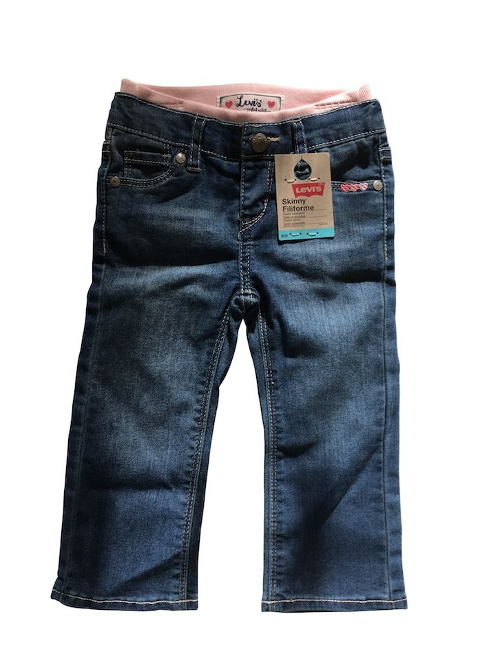 Levis Levis Kids, Girls Toddler Waistband Skinny Denim