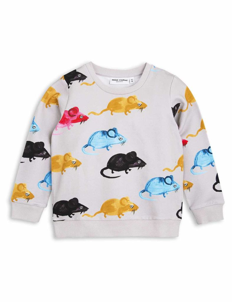 MiniRodini Mini Rodini, Mr Mouse Sweatshirt