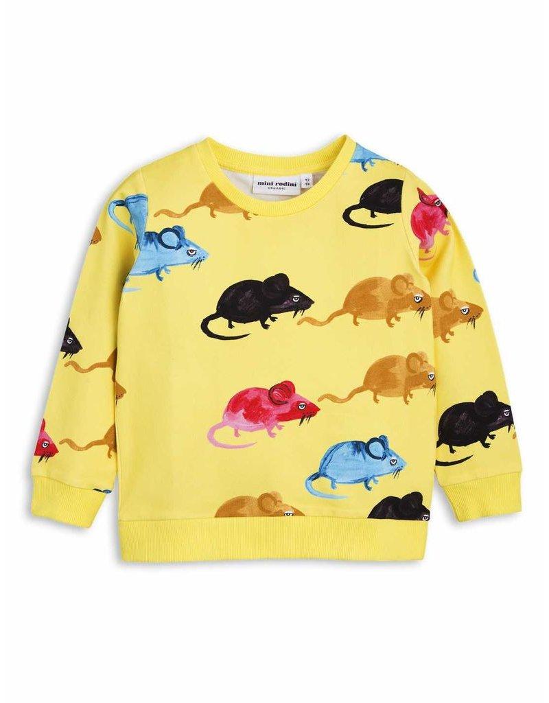 MiniRodini Mini Rodini, Mr Mouse Sweatshirt