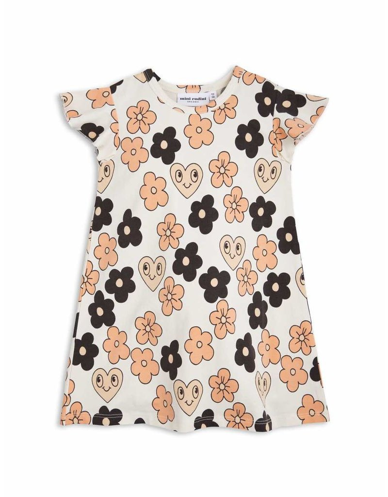 MiniRodini Mini Rodini, Flowers Wing Dress