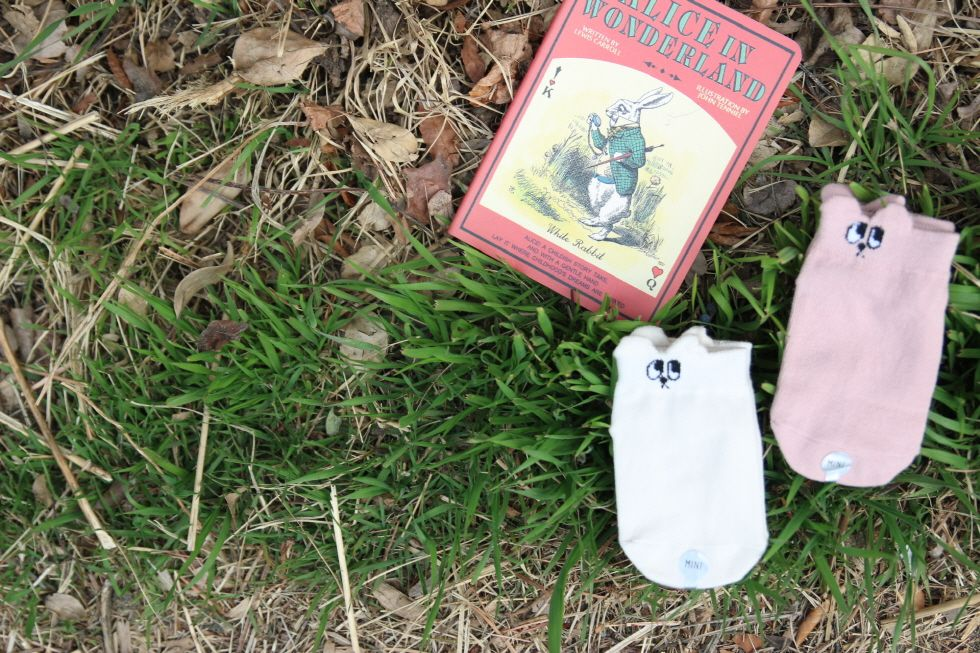 Mini Dressing Mini-Dressing, Bunny Socks 2pk