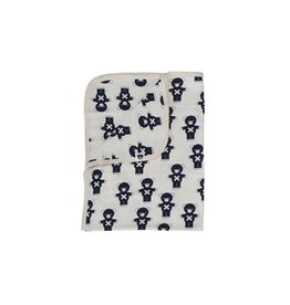 HuxBaby Hux Baby, 100% Organic Cotton Soft Blanket/Wrap