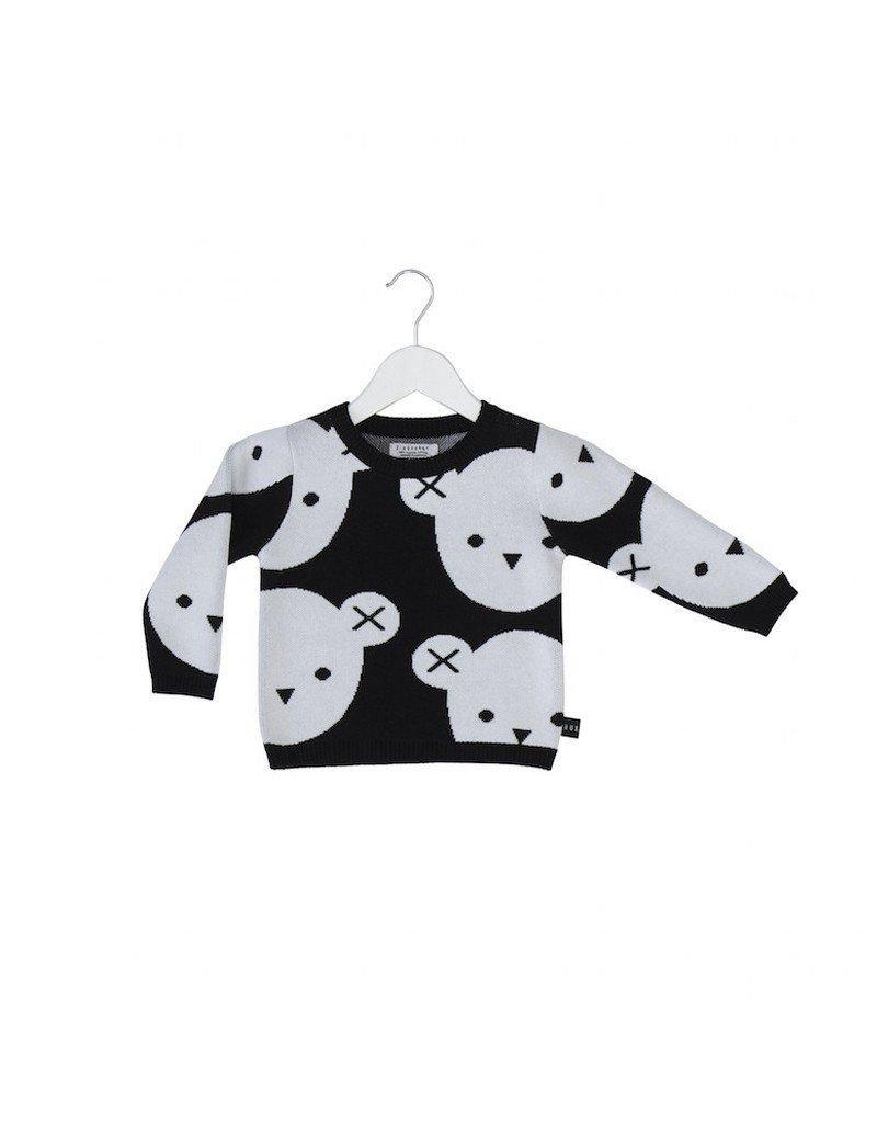 HuxBaby Hux Baby, Bear Jumper (Jacquard 100% Organic Knit)