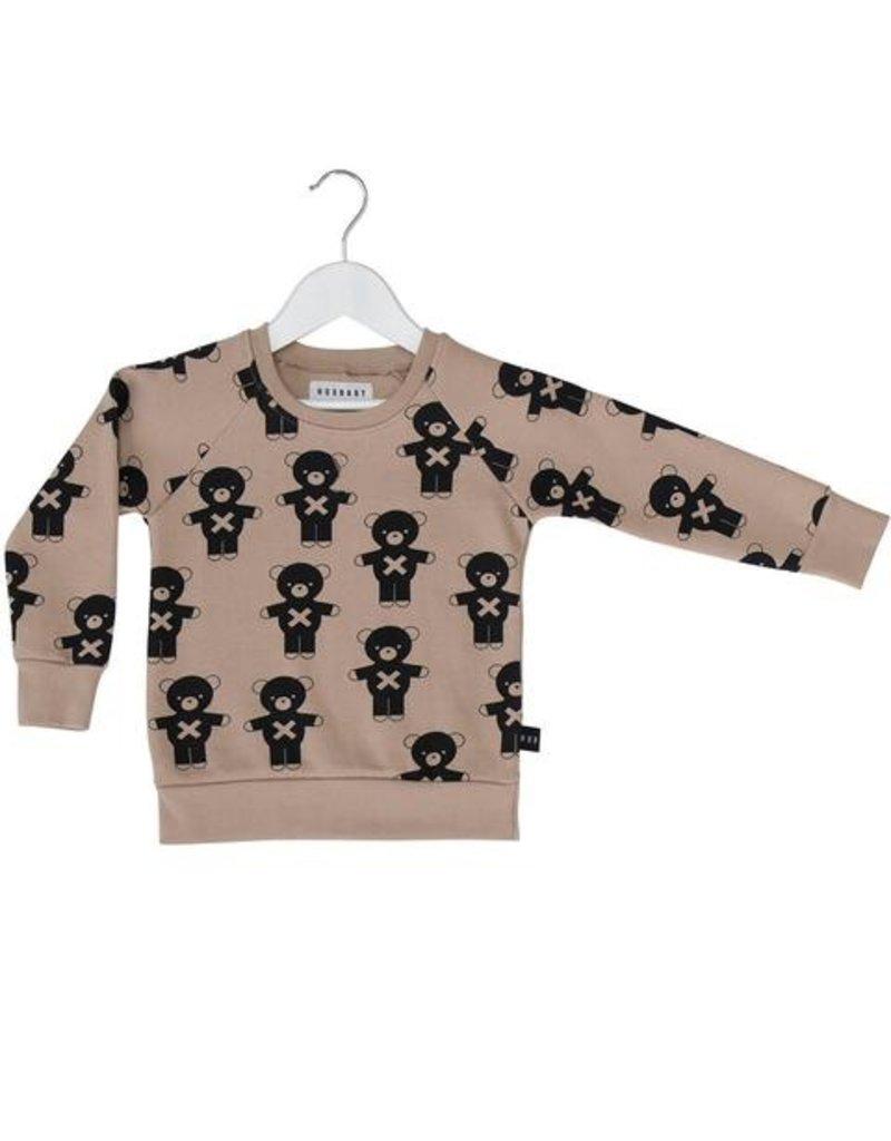 HuxBaby Hux Baby, Soldier Bear Fleece Sweatshirt