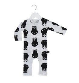 HuxBaby Hux Baby, Bunny Long Romper