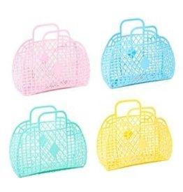 Sun Jellies Small Basket