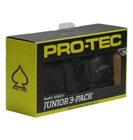 Protec Pro-Tec, 3 Pack Pads. Knee, Elbow, Wrist