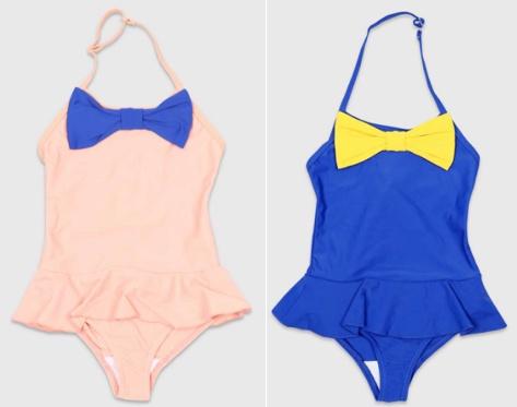 MiniRodini Mini Rodini, Bow Swimsuit