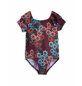MiniRodini Mini Rodini, Daisy Short Sleeve Swimsuit