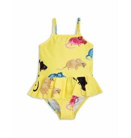 MiniRodini Mini Rodini, Mr Mouse Skirt Swimsuit