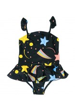 MiniRodini Mini Rodini, Space Skirt Swimsuit