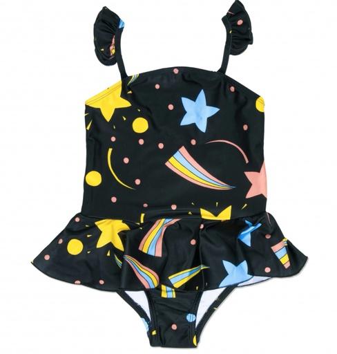 MiniRodini Mini Rodini, Space Skirt Swimsuit