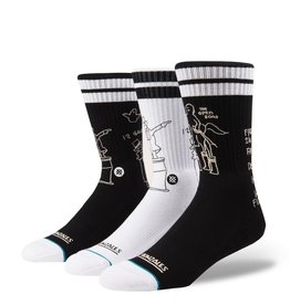 Stance Stance, Mens Mark Gonz Skate Shell 3 sock set