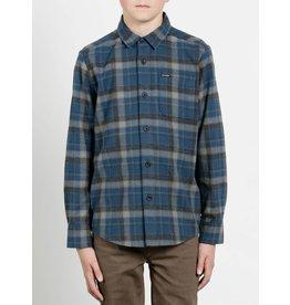Volcom Volcom, Child Caden Long Sleeve Flannel Shirt
