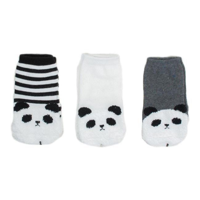 Mini Dressing Mini-Dressing, Puru Puru Socks 3pk