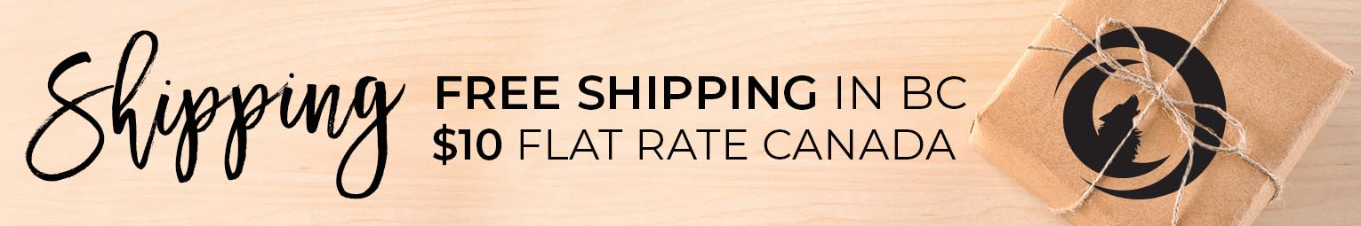 Free Shipping BC Flat Rate Canada