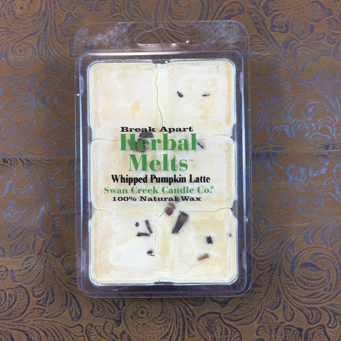 *Swan Creek Whipped Pumpkin Latte Herbal Melts - Seasonal/Discontinued