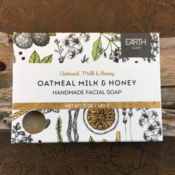 Oatmeal Milk & Honey Handmade Facial Soap