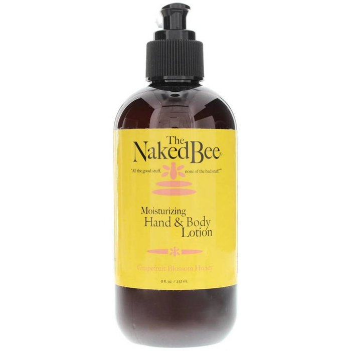 Naked Bee Grapefruit Blossom Honey Hand and Body Lotion Pump 8 fl oz