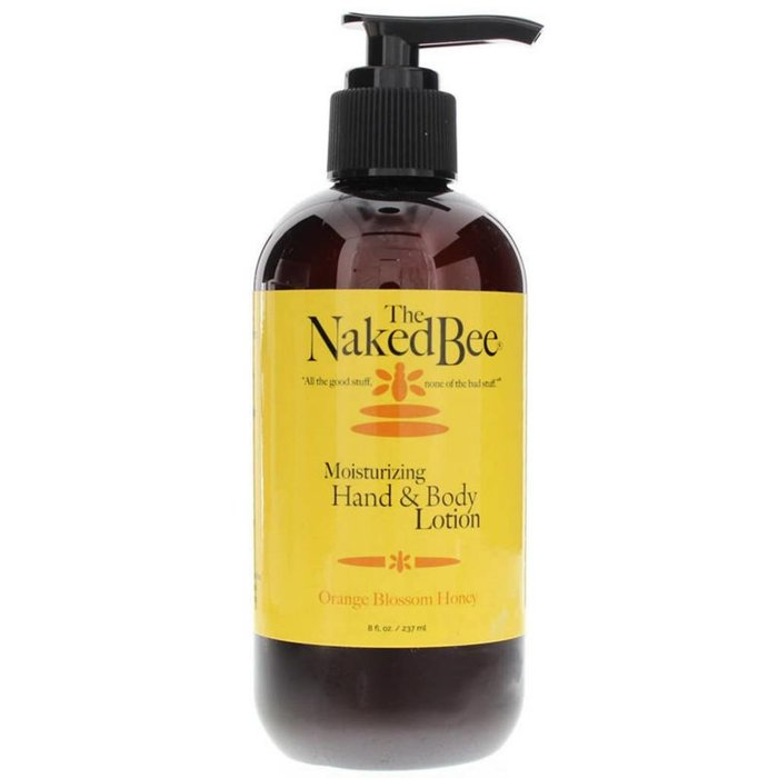 Naked Bee Orange Blossom Honey Pump Hand and Body Lotion 8oz
