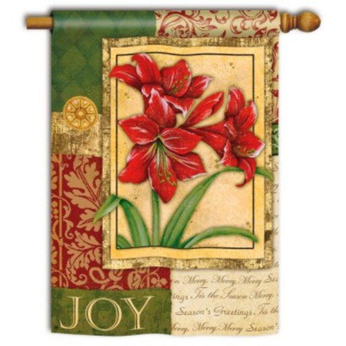 Amaryllis Tapestry Standard Flag