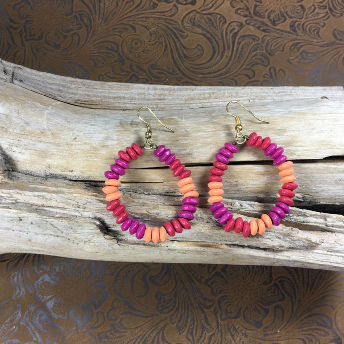 Wooden Color Earrings