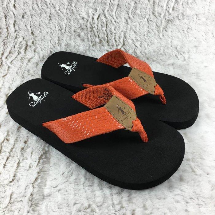 Secret - Orange Flip Flop