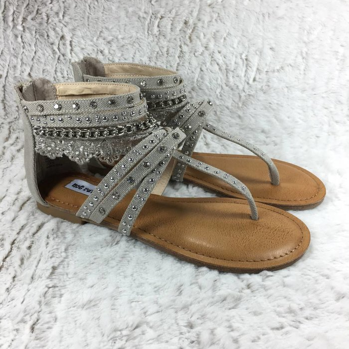 Wilma Cream Lace Sandal