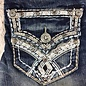 Charme White Stitch Jeans