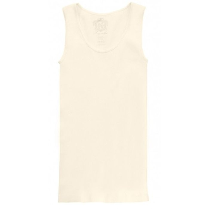 Ribbed Ivory Tank - ONE SIZE