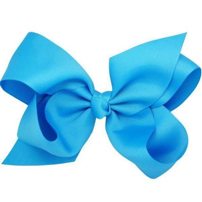 Medium Turquoise Bow
