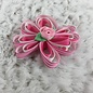 Small Pink Rose Bow