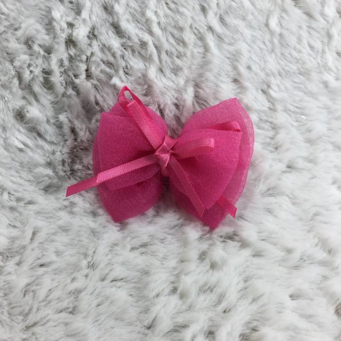 Pink Double Bow
