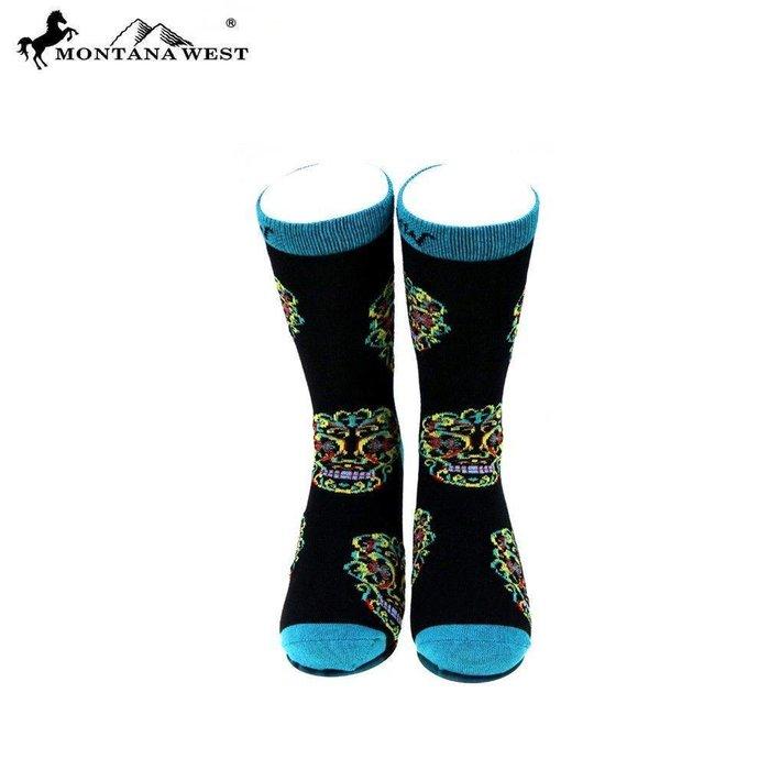 Skull Socks - Montana West