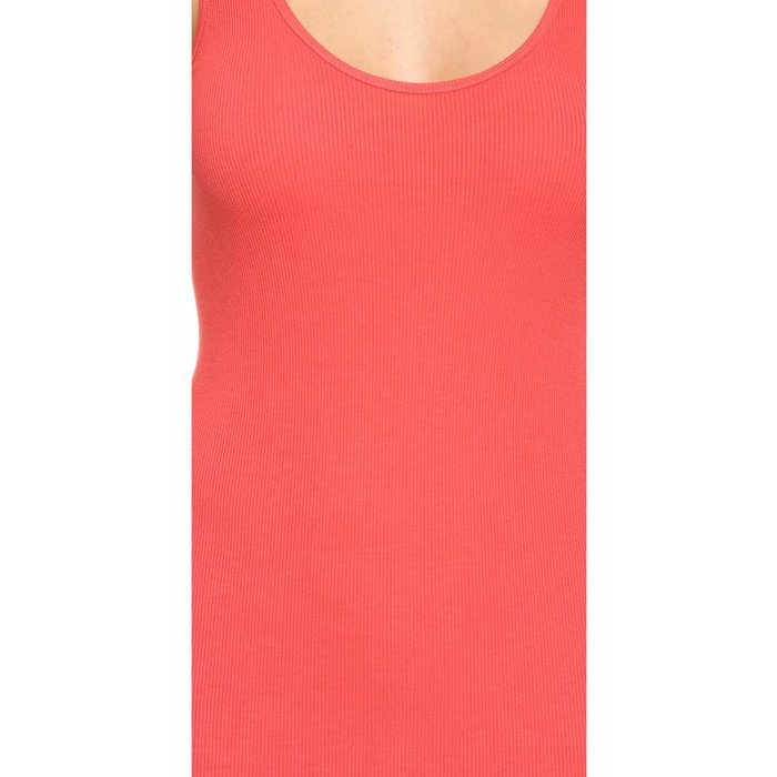 Ribbed Coral Tank - ONE SIZE