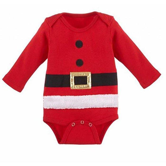 Santa Suit Diaper Shirt