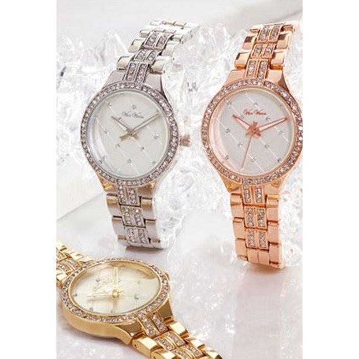Alloy Fashion Watch - Gold