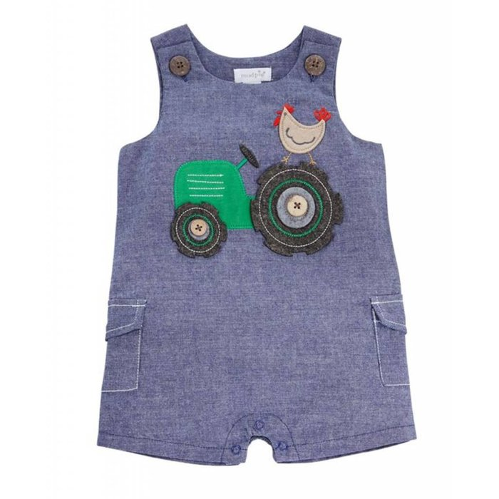 Tractor Chambray Shortall