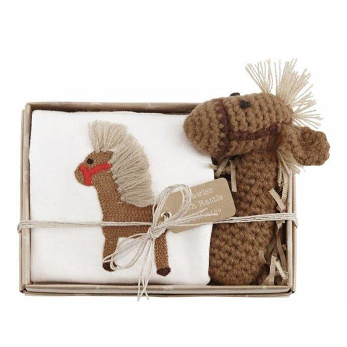 Horse Crawler & Rattle Set