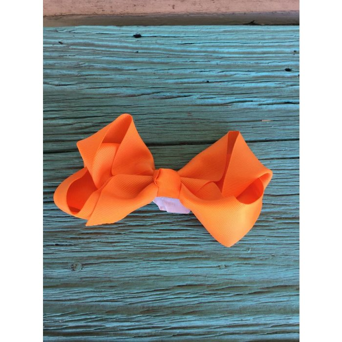 Medium Orange Bow