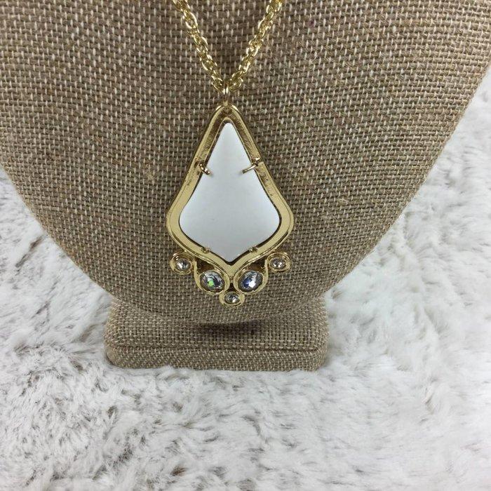 Teardrop KS Bling Necklace