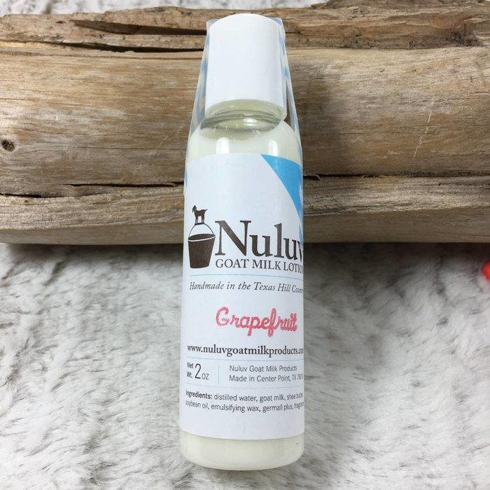 2 Oz Nuluv Grapefruit Hand Made Goats Milk Lotion